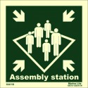 ASSEMBLY STATION  (15x15cm) Phot.Vin. IMO sign 104119