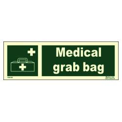MEDICAL GRAB BAG  (10x30cm) Phot.Vin. IMO sign 104136