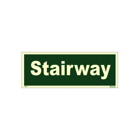 STAIRWAY  (10x30cm) Phot.Vin. IMO sign 114471