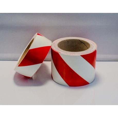 RED DIAGONAL TAPE  (8cmx10m) Phot.Vin. Ref. 122058