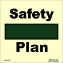 SAFETY PLAN  (15x15cm) Phot.Vin. IMO sign 154132