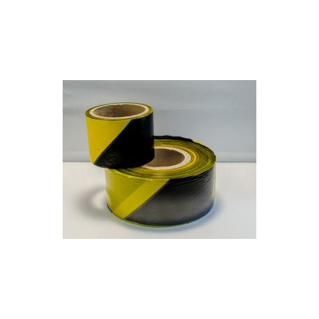 Yellow/Black Not Adhesive Barrier tape  (8cmx200m) Ref. 121198/1199