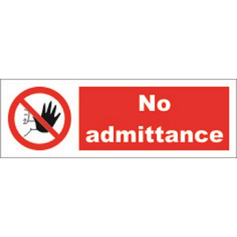 do not touch 10x30cm white vin imo symbol 208548wv