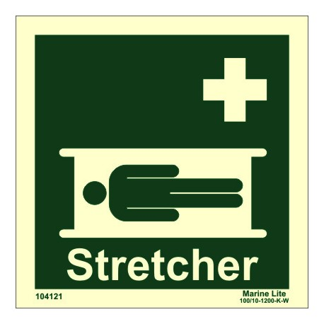 STRETCHER  (15x15cm) Phot.Vin. IMO sign 104121