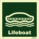 LIFEBOAT  (30x30cm) Phot.Vin. IMO sign 104123