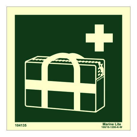 MEDICAL GRAB BAG  (15x15cm) Phot.Vin. IMO sign 104135