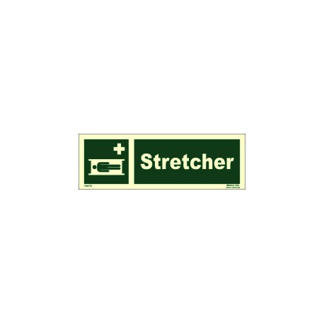 STRETCHER  (10x30cm) Phot.Vin. IMO sign 104172 / EES005