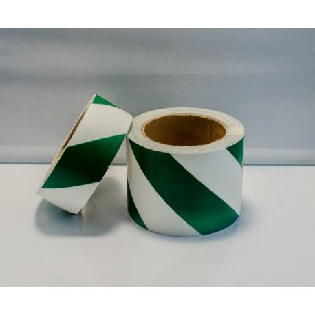 GREEN DIAGONAL TAPE  (4cmx10m) Phot.Vin. IMO sign 122034