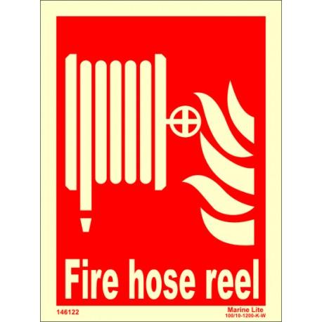 FIRE HOSE REEL  (20x15cm) Phot.Vin. IMO sign 146122 / FES002