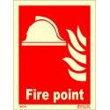 FIRE POINT   (15x20cm) Phot.Vin. IMO sign 146123 / FES003