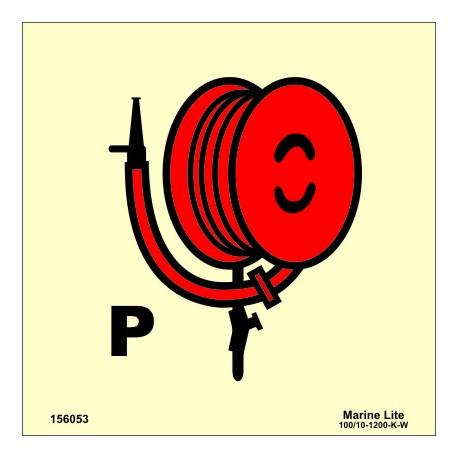 POWDER HOSE AND HANDGUN  (15x15cm) Phot.Vin. IMO sign 156053