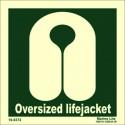 LIFEJACKET OVERSIZED  (15x15cm) Phot.Vin. IMO sign 100372 334143