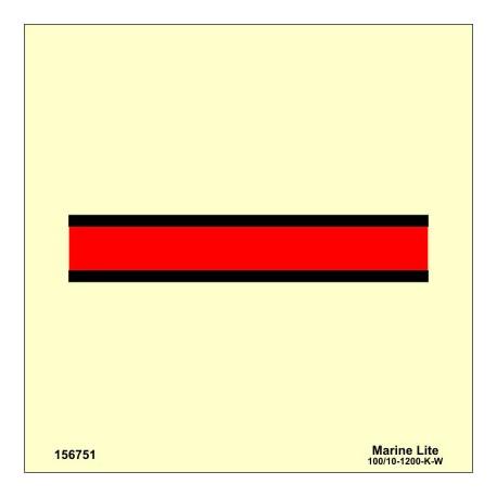 """Señal IMO PUERTA CONTRA INCENDIOS CLASE """"A"""" (15x15cm) vinilo fotoluminiscente 156751/6031"""