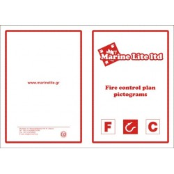 Pictogramas FIRE CONTROL PICTOGRAMS   White Vin. IMO symbol 222603WV/332600