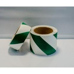 IMO GREEN DIAGONAL TAPE  (8cmx10m) Phot.Vin. IMO sign 122038