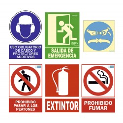 Signs in Spanish
