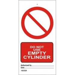 DO NOT USE EMPTY CYLIND (7,5X15) SET 10 IMO sign 182529