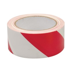 Red / White Adhesive Barrier Tape  (5cmx33m) IMO sign 122005