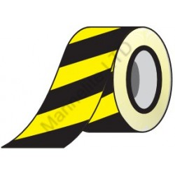 Yellow/Black Adhesive Barrier Tape  (4.8cmx20m) IMO sign 122006 B