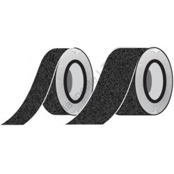 Black Anti-Slip Tape  (10cmx18,3m) IMO sign 12-0033(10)