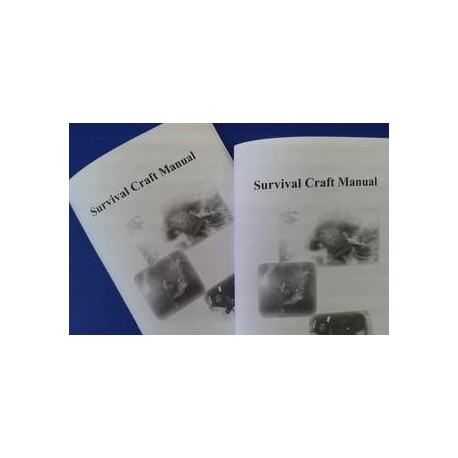 Survival Craft Manual (Booklet, A5-size)