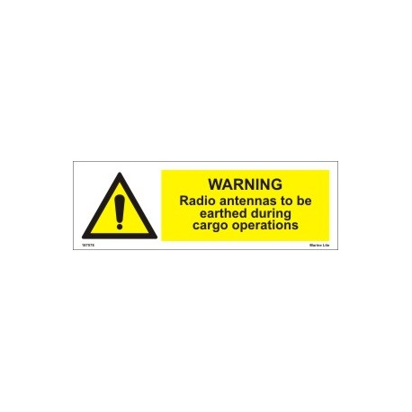 DANGER HOT SURFACE  (20x15cm) White Vin. IMO sign 187579(16)WV