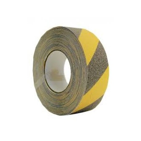 Yellow/Black Anti-Slip Tape  (5cmx18m) IMO sign 12-0075