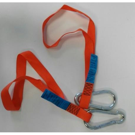Magnet´s security sling/ Eslinga de seguridad para imán de escala de práctico