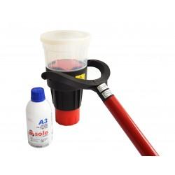 KIt comprobación detectores de humo SOLO 880 : Dosificador humo + Aerosol humo + extensión para 2.5m