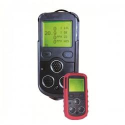 Detector de gases portatil Marine 4™ – O2, CO, H2S, %LEL, con bomba de muestreo integrada