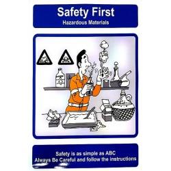 SLIPS AND FALLS (40x30 cm) Safety poster TSBM74WV