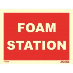 FOAM STATION  (15x20cm) Phot.Vin. IMO sign 230006