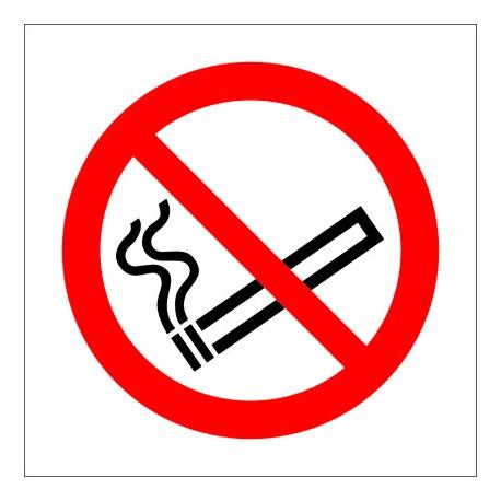 IMO SIGN NO SMOKING  (15x15cm) Phot.Vin. IMO sign 208500